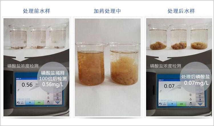 除磷剂是如何进行污废水的除磷处理的?